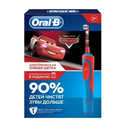 Подарочный набор ORAL_B Электрическая зубная щетка Cars D12+чехол