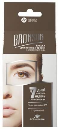 """Набор """"BRONSUN"""" для домашнего окрашивания, темно-коричневый, 1 шт, (Innovator Cosmetics)"""