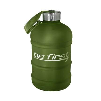 Бутылка для воды Be First 1890 мл, хаки матовая