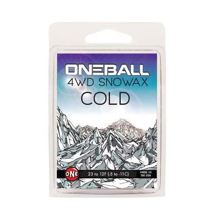 Парафин Oneball 4Wd Cold -5C/-11C 165 г