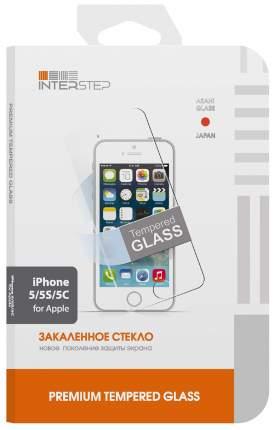 Защитное стекло InterStep для Apple iPhone 5/iPhone 5S/iPhone SE