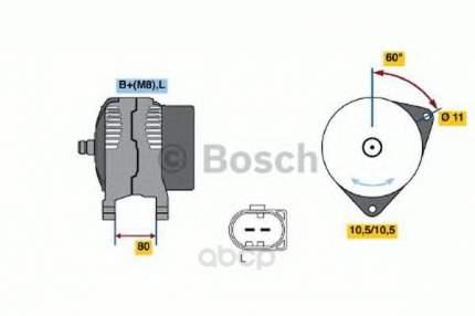 Генератор Bosch 0124325122