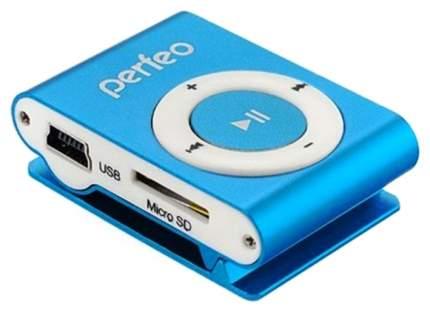 МР3-плеер с клипсой Perfeo Music Clip Titanium VI-M001 Голубой
