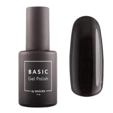 Гель-лак Masura BASIC Черный Кобальт, 11 мл