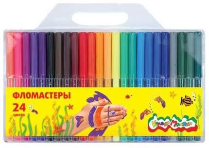 Фломастеры, 24 цвета