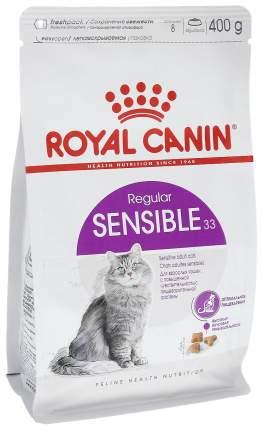 Сухой корм для кошек ROYAL CANIN Sensible 33, при чувствительном пищеварении, 0,4кг