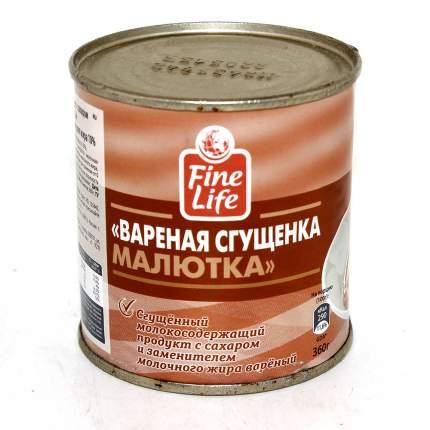 Продукт Fine Life вареная сгущенка малютка 360 г