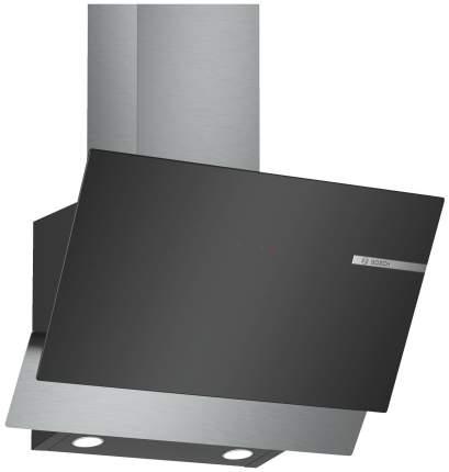Вытяжка наклонная Bosch DWK65AD60R Black
