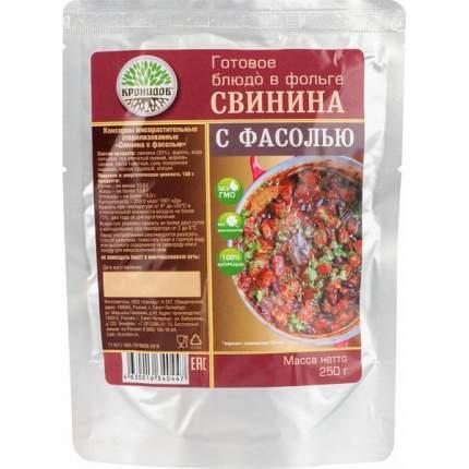Готовое блюдо Кронидов свинина с фасолью 250 г