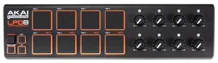 Портативный USB/MIDI-контроллер Akai PRO LPD8