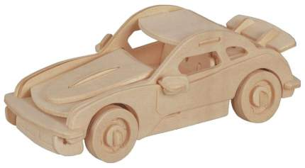 Сборная деревянная модель Wooden Toys Спорткупе,34 дет.