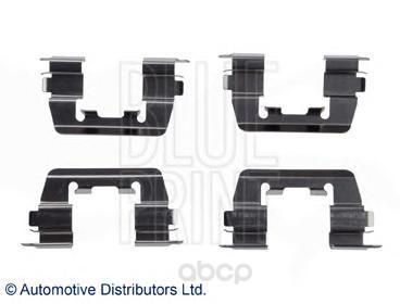 Комплект монтажный тормозных колодок Blue Print ADG048602