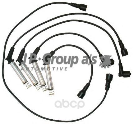 Высоковольтные провода комплект electrix, dk jp group 1292001610