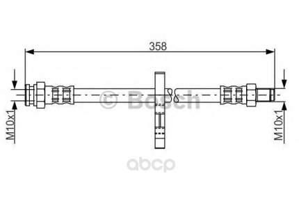 Шланг тормозной Bosch 1987481019
