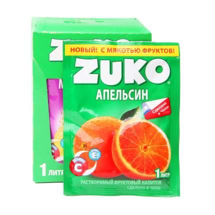 Напиток растворимый Zuko апельсин 12 штук