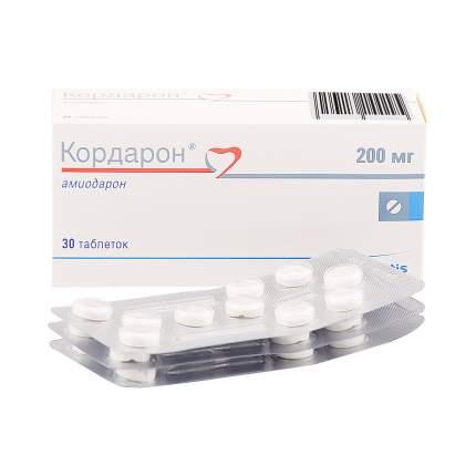 Кордарон таблетки 200 мг 30 шт.
