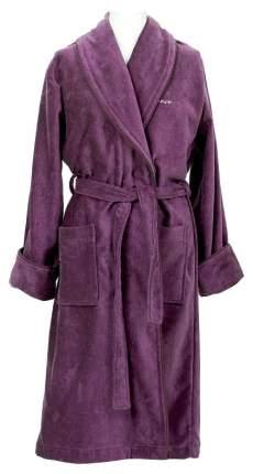 Халат Gant Home Premium Velour Robe 856002603 сиреневый L