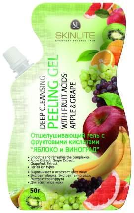 Пилинг для лица Skinlite Отшелушивающий Яблоко и виноград 50 г