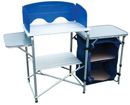 Туристический стол Tramp TRF-021 серый/синий