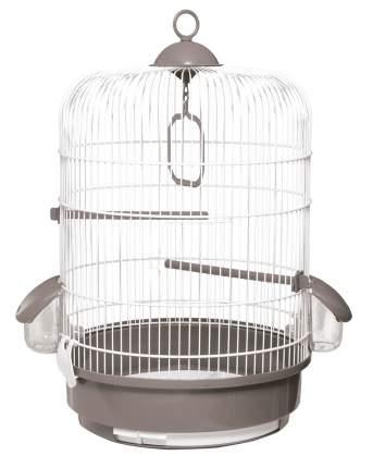 Клетка для птиц Voltrega (736) цвет белый/серый