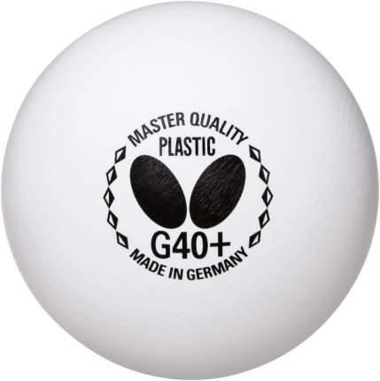 Мячи для настольного тенниса Butterfly Master Quality G40+ белые, 72 шт.