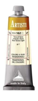 Масляная краска Maimeri Artisti 162 сиена натуральная светлая 60 мл