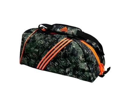 Спортивная сумка Adidas Combat Camo Bag M камуфляжно-оранжевая