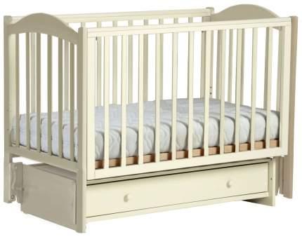 Детская кровать Кубаньлесстрой Кубаночка-2 Слоновая кость