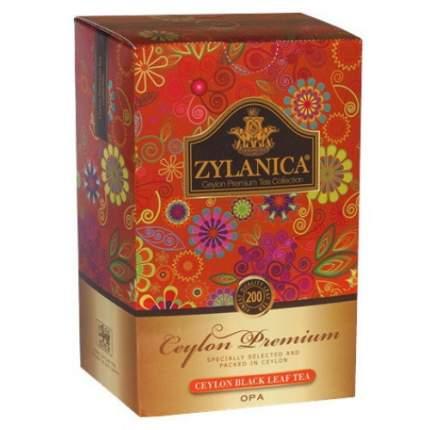 Чай черный листовой Zylanica ceylon premium collection OPА 200 г