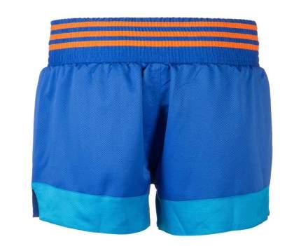 Шорты для тайского бокса Adidas Thai Boxing Short Sublimated сине-оранжевые S
