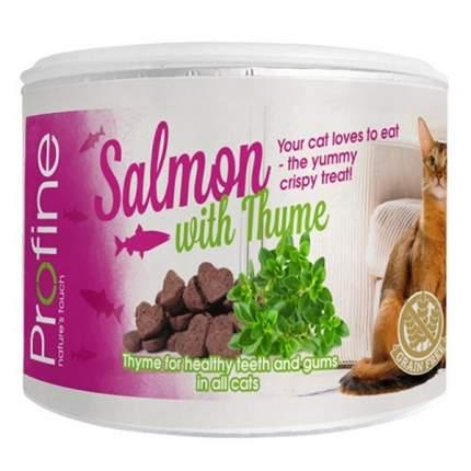 Лакомство для кошек PROFINE Хрустящее печенье беззерновое с лососем и тимьяном 50г