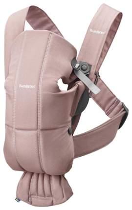 Рюкзак для новорожденных Babybjorn Mini Cotton Пепельно-розовый