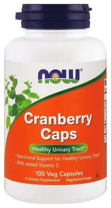 Антиоксидант, добавка для здоровья NOW Cranberry Caps 100 капс. нейтральный
