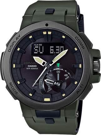 Наручные часы кварцевые мужские Casio Pro Trek PRW-7000-3E