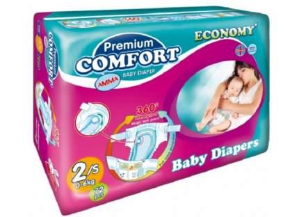 Подгузники для новорожденныхАММАPremium Comfort 0-6 кг,,72 шт,