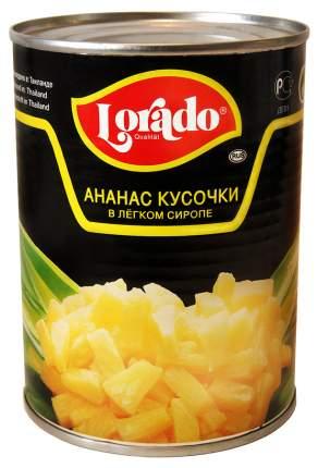 Ананасы Лорадо в сиропе кусочками 0.58  л