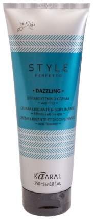 Крем для выпрямления волос / STYLE Perfetto DAZZLING STRAIGHTENING CREAM 250 мл