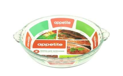 Форма стеклянная круглая 1,25л TM Appetite PL15