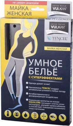 Футболка женская Vulkan Termo Умное белье, черная, One Size