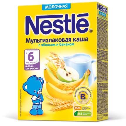 Каша молочная Nestle Мультизлаковая с яблоком и бананом с 6 мес 220 г