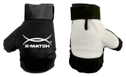 Боксерские перчатки X-Match 87730 белые/черные 5,86 унций
