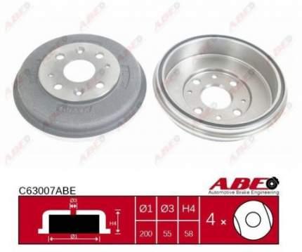 Тормозной барабан ABE C63007ABE