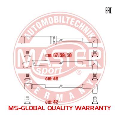 Комплект проводов зажигания MASTER-SPORT 834-ZW-PR-SET-MS