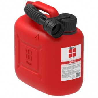 Канистра для бензина Oktan 5 л 2230x2280 красный