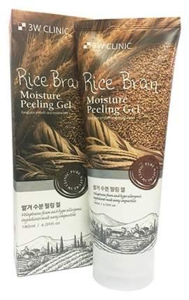 Пилинг для лица 3W Clinic Rice Bran Moisture Peeling Gel 180 мл