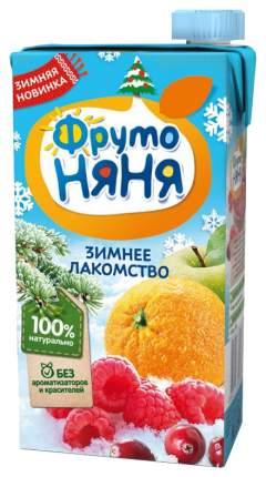 Нектар ФрутоНяня из яблок, апельсинов, клюквы и малины