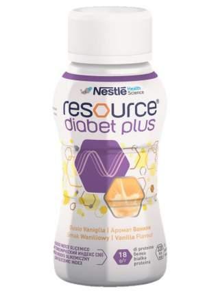 Смесь жидкая Resource Diabet Plus с ароматом ванили 200 мл