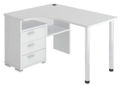 Письменный стол Мэрдэс MER_SR-132S_K-LEV, карамель/хром