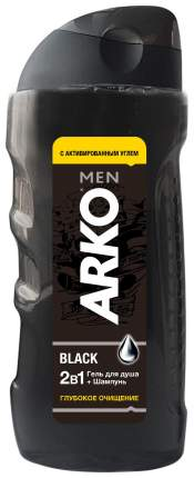 Гель для душа Arko Men 2 in 1 Black 260 мл
