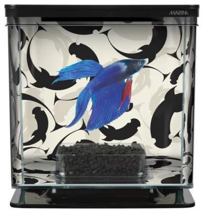 Аквариумный комлекс для рыб петушков Hagen Marina Betta Kit Ying/Yang, бесшовный, 2 л
